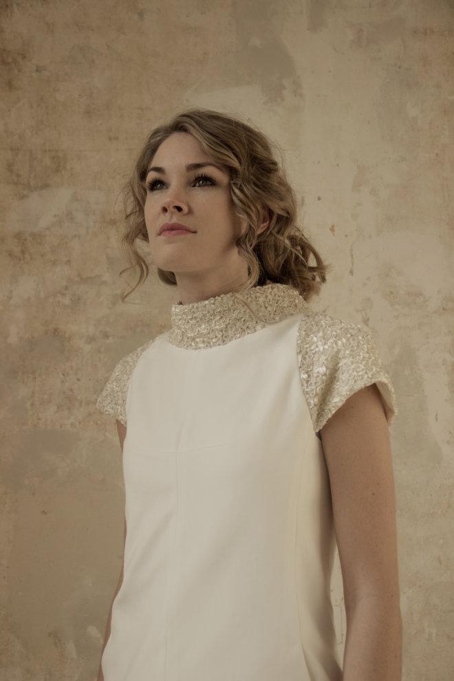 Korte jurk met steekzakjes 2