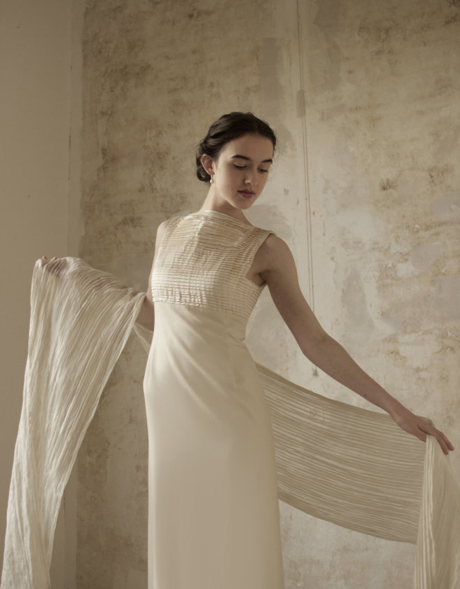 Ribbeltjes jurk 2