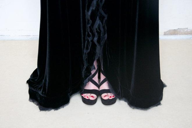 zwart fluweel lang 2