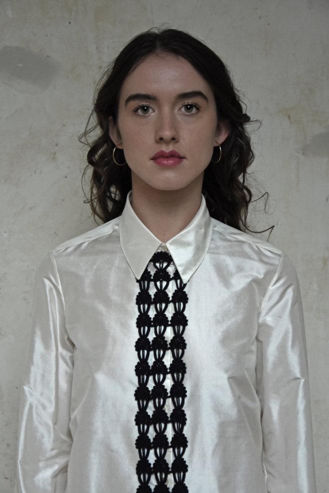 blouse 2 met jabot